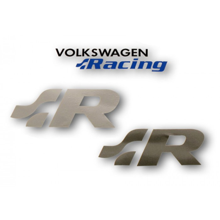 Volkswagen Racing Logo Stickers