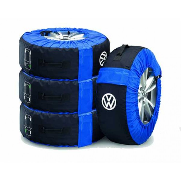 VW Wheel Storage Bags - Set Of 4 That Fit Up To 18inch Wheels